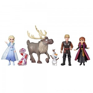 Disney Frozen 2 Adventure Collection, 5 Small Dolls from Frozen 2 [ Black Friday Sale ]