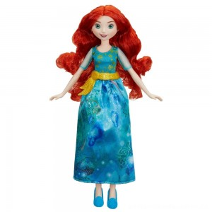 Disney Princess Royal Shimmer - Merida Doll [ Sale ]