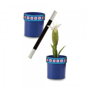 Melissa & Doug Magic in a Snap Magic Flower Pot and Wand
