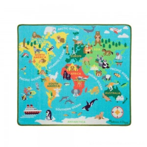Melissa & Doug Round the World Travel Activity Rug [ Sale ]