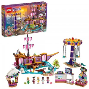 LEGO Friends Heartlake City Amusement Park with Toy Rollercoaster Building Set with Mini Dolls 41375 [ Sale ]