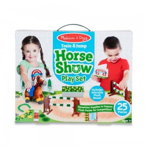 Melissa & Doug Horse Show Equestrian Playset 25pc [ Black Friday Sale ]