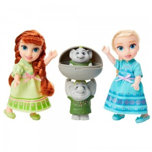 Disney Frozen 2 Petite Surprise Trolls Gift Set [ Black Friday Sale ]