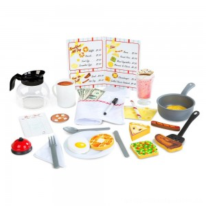 Melissa & Doug Star Diner Restaurant Play Set [ Black Friday Sale ]