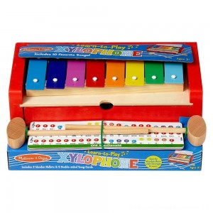 Melissa & Doug Learn-to-Play Xylophone [ Black Friday Sale ]
