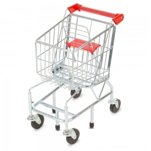Melissa & Doug Toy Shopping Cart With Sturdy Metal Frame [ Black Friday Sale ]