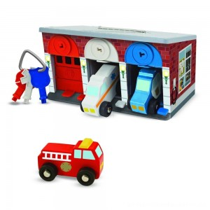 Melissa & Doug Keys & Cars Rescue Garage [ Sale ]