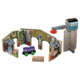 Fisher-Price Thomas & Friends Wooden Railway Creative Junction Slot and Build [ Black Friday Sale ]