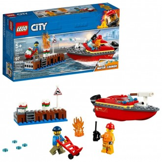 LEGO City Dock Side Fire 60213 [ Sale ]