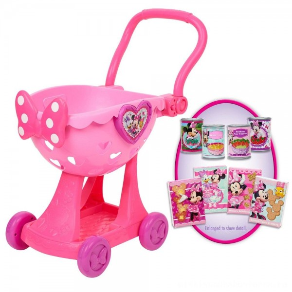 Disney Minnie's Happy Helpers Bowtique Shopping Cart
