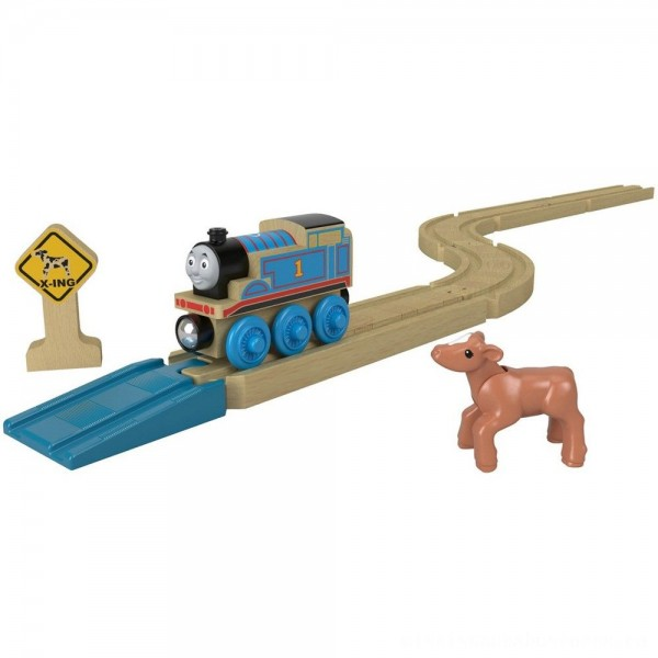 Fisher-Price Thomas & Friends Wood Straights & Curves Track Pack [ Black Friday Sale ]