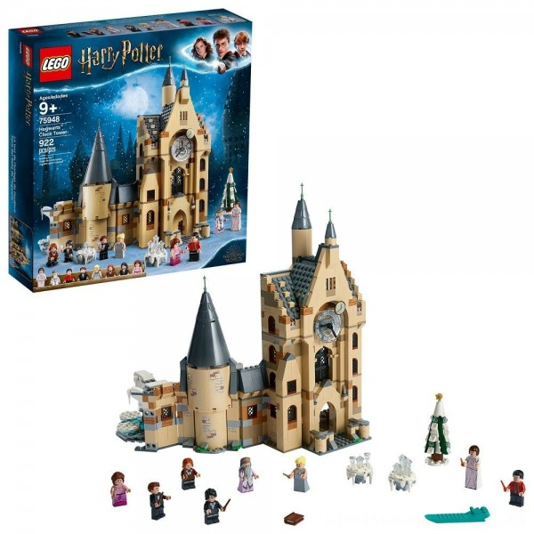 LEGO Harry Potter and The Goblet of Fire Hogwarts Clock Tower Castle Playset with Minifigures 75948 [ Sale ]