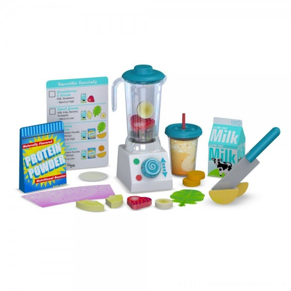 Melissa & Doug 24pc Smoothie Maker Blender Set [ Black Friday Sale ]