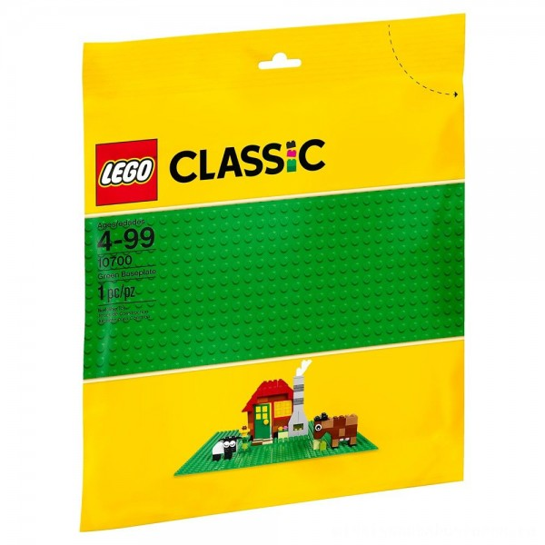 LEGO Classic Green Baseplate 10700 [ Black Friday Sale ]