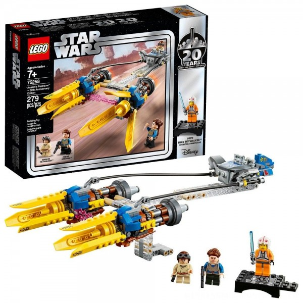LEGO Star Wars Anakin's Podracer - 20th Anniversary Edition 75258 [ Sale ]