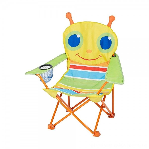 Melissa & Doug Sunny Patch Giddy Buggy Folding Lawn and Camping Chair [ Sale ]